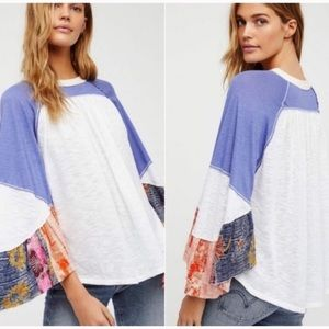 Free People Friday Fever Batwing Dolman Top